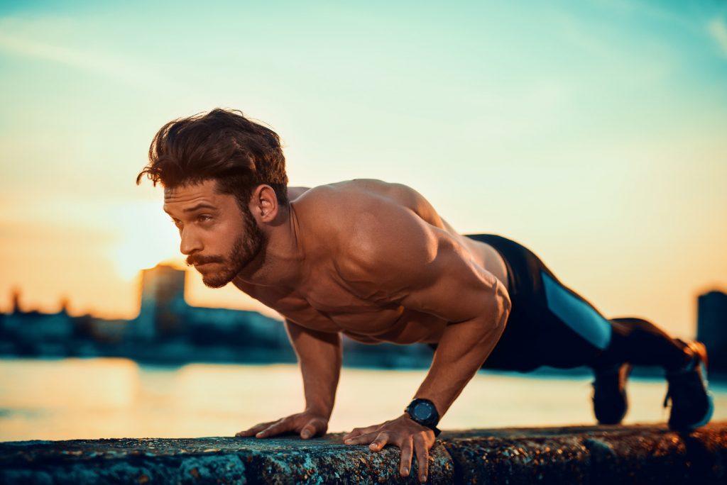 12 maanden trainingsprogramma voor mannen