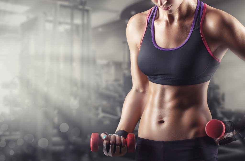 trainingsschema's voor spiergroei voor vrouwen
