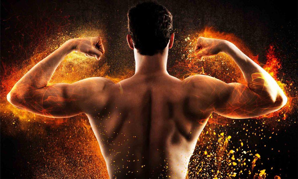 Metabolische stress door weinig rust - brandende spieren