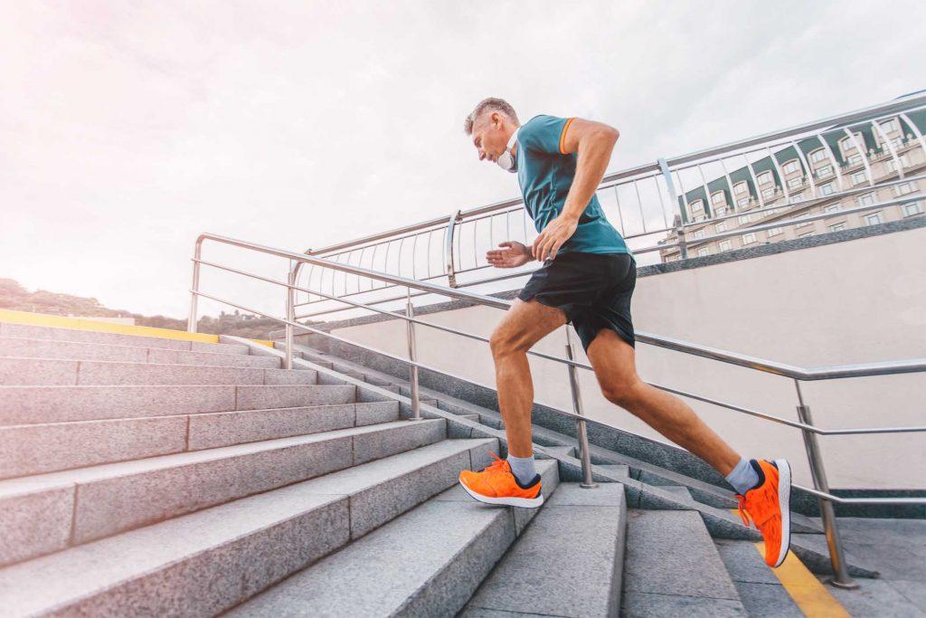 blauwdruk hardlopen voor droog trainen