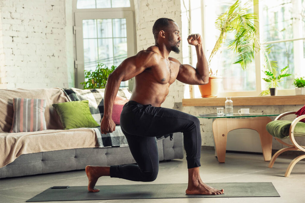 fitness schema voor thuis