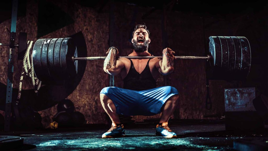 quadriceps als zwakke plek in de squat herkennen