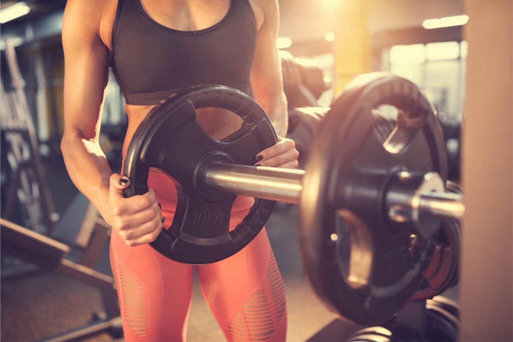 gewicht verzwaren voor spiergroei warming up