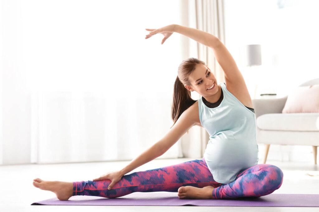 trainingsschema trimester 2 yoga voor zwangere vrouwen