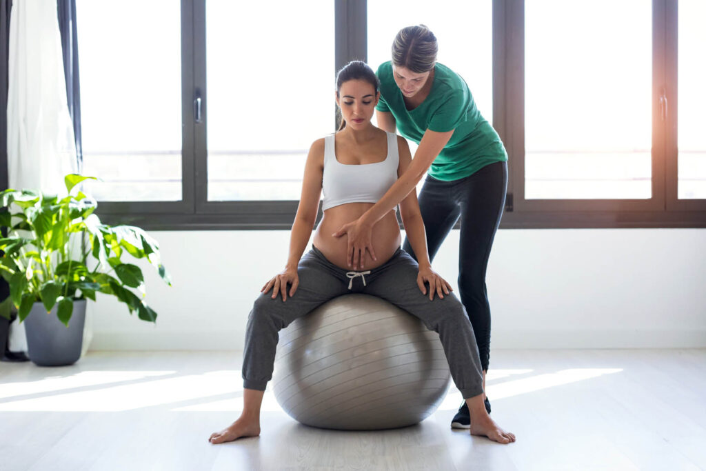 trainingsschema trimester 1 zwangerschap fitness