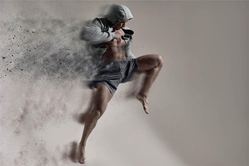 trainingsschema fitness voor kickboksers