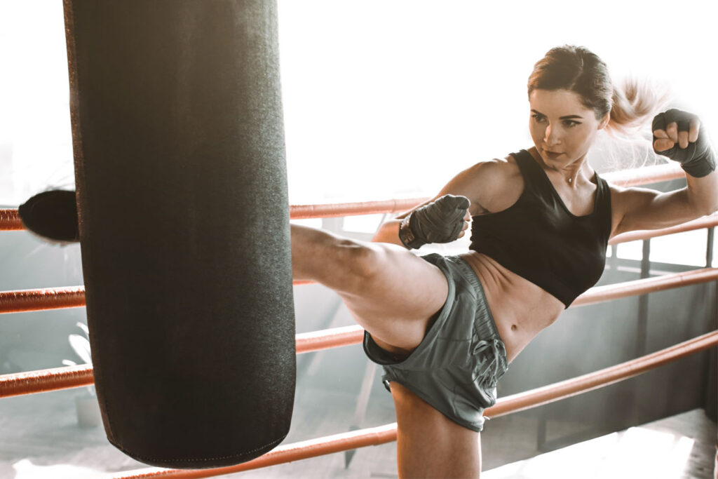kickboksen en fitness trainingsschema