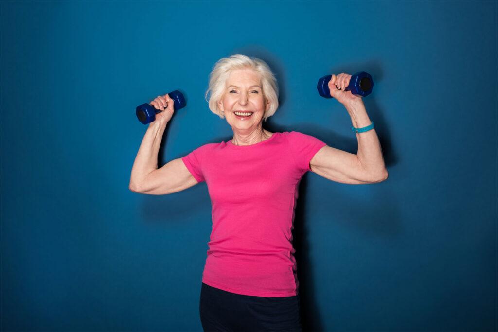 Senioren fitness - trainingsschem voor vrouwen