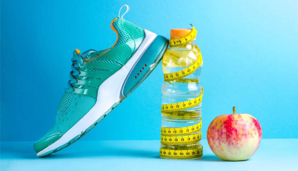 fitness attributen thuis trainen jaarprogramma
