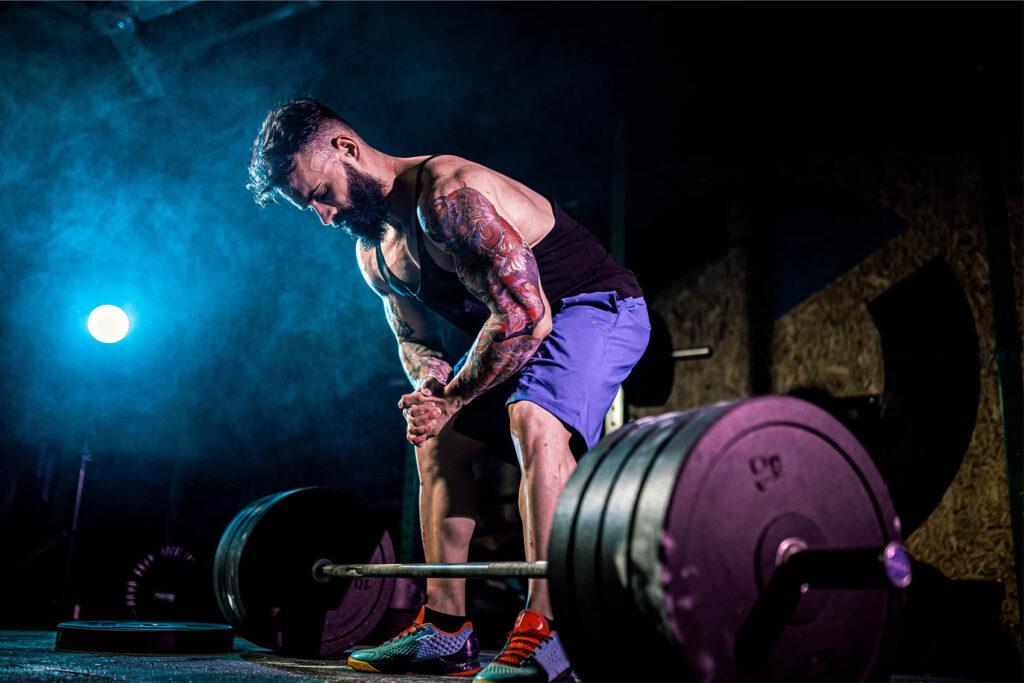 groot en sterk trainingsschema
