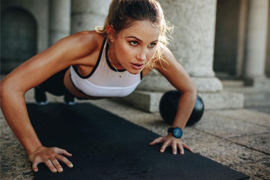 trainingsschema spiermassa en afvallen voor meisjes